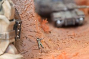 One-Year War Diorama 4 by HobbyV