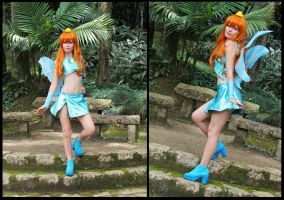 Cosplay Bloom -  Winx Club by MishiroMirage