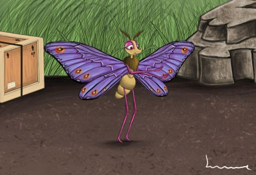 Gypsy - A Bug's Life by Louisetheanimator