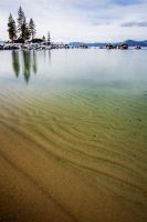 Calm at Tahoe's Sand Harbor by sellsworth