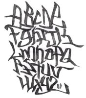 Grafitti Font-Beta test by astayoga