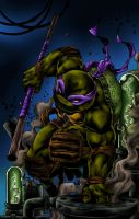 Donatello, the scientist by mortalshinobi