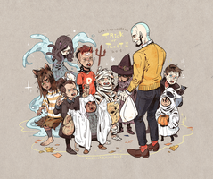 LOK kid villains Halloween 2015 by freestarisis
