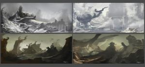 4 Concepts of Thyranrayr Environments 03 by Brollonks