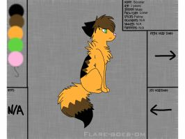 Scooter Ref Sheet by Shadow-Star42