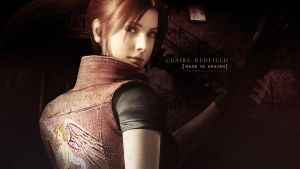 Claire Redfield wallpaper XBOX by VickyxRedfield