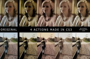 Retro Actions by sd-stock