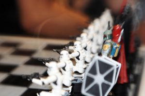 Star Wars Chess by LDFranklin