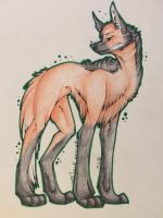 Maned Wolf by Dragon-Wolf-Lover