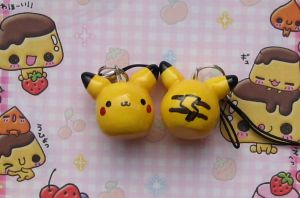 Pikachu charms RESTOCKED by kneazlegurl125