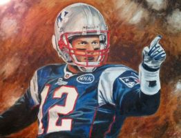Tom Brady by christhib