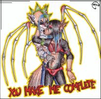 You make me complete by shower-zombie