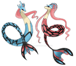Mega Milotic by Pgdelirio