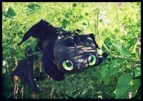 The Last Toothless Plush by Zakeno