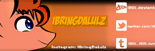 Official IBringDaLulz Channel Banner by 344forever