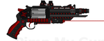 HVR-3000Z 'Majestic-6' Zorath Special Hvy Revolver by Lord-DracoDraconis