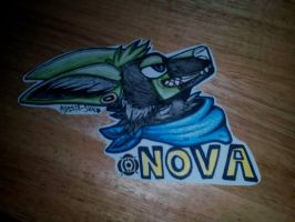 CO: Fursuit badge by Aussie-sky