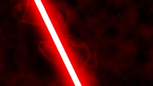 Red Lightsaber by nerfAvari
