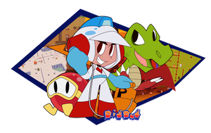 Dig Dug by WHATiFGirl