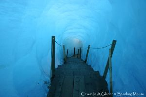 A Cavern In A Glacier by SpankingMouse