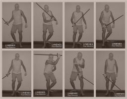 Sword Part 05 - Pose Reference - 1 Handed Standing by lvmenes