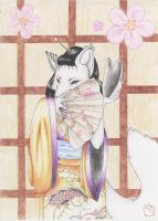 Geisha No Kitsune by DaRkRaVeNsTeAr