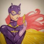 Batgirl Sketch by Katcuty