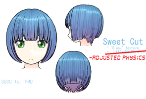 MMD- Sweet Cut.2 -DL by MMDFakewings18