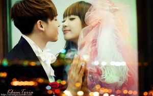 Khuntoria - almost kiss by Sweetkrystyna