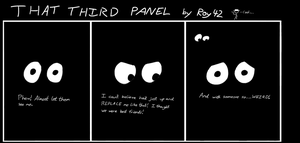 That Third Panel - More Friends #6 by Roy4242