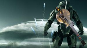 MasterChief is a Guitar hero by snoggbukker