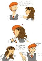 For Ron and Hermione Shippers by green-watches