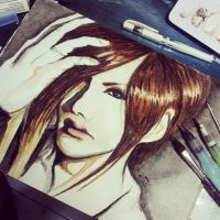 Uruha in progess by MuArtGL