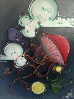 jellies afloat by PaintingCleverly