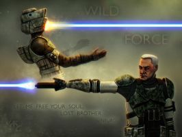 Wild Force - Neuro vs Scout by Master-Cyrus