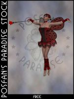 LadyBug Faerie 013 by poserfan-stock