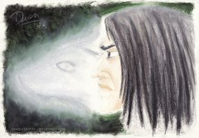 :DH Spoiler: Snape's Patronus by DawnArts