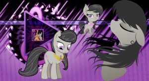Octavia Melody Wallpapper by Octavia-The-Pony