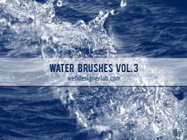 Water Photoshop Brushes by analeewon