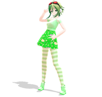 [MMD Newcomer] Spring Gumi by SapphireRose-chan