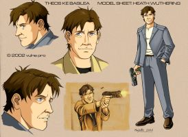 Heath Wuthering model sheet by VulnePro