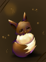 Sad Eevee by Psunna