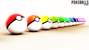 Pokeballs by TheAeroDesigns