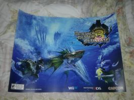 Monster Hunter 3 Ultimate Poster (For Sale) by DestinyDecade