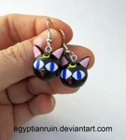 Luna Ball Earrings by egyptianruin
