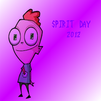Keef Supports Spirit Day by Panthiguar