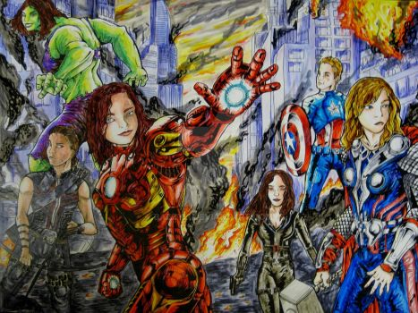 Avengers Likeness Complete by Bazzyli