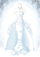 Haute Couture Wedding Dress by Neko-Vi