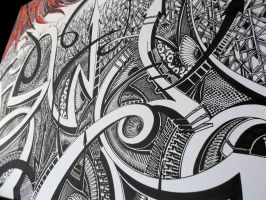 Sharpie Art Close-Up by PinstripeChris