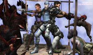 The Mercs RE5 by toughraid3r37890